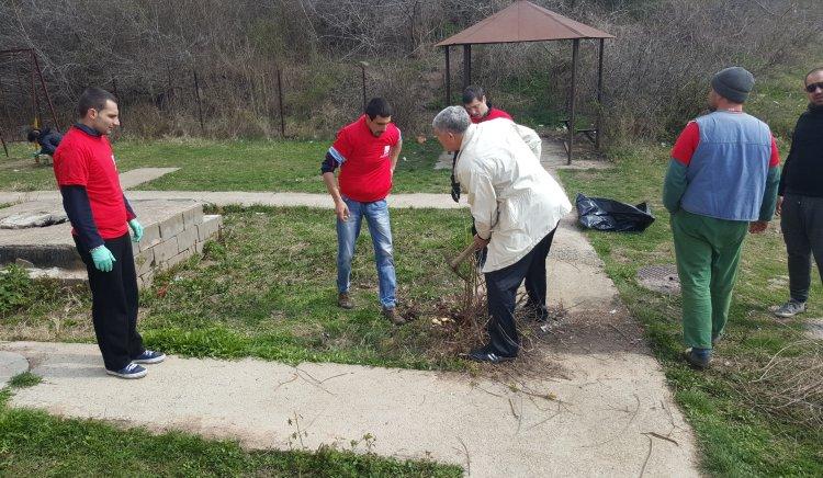МО в БСП-Сливен и общински съветници с инициатива по лсучай първа пролет
